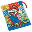 コップ袋 スーパーマリオ 歯ブラシホルダー付き 子供用 キャラクター ( 子ども用 給食 袋 子供用コップ お弁当グッズ マリオ )