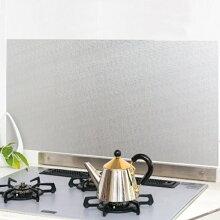 汚れ防止シート キッチン壁用 45×90cm アルミシート クロス柄