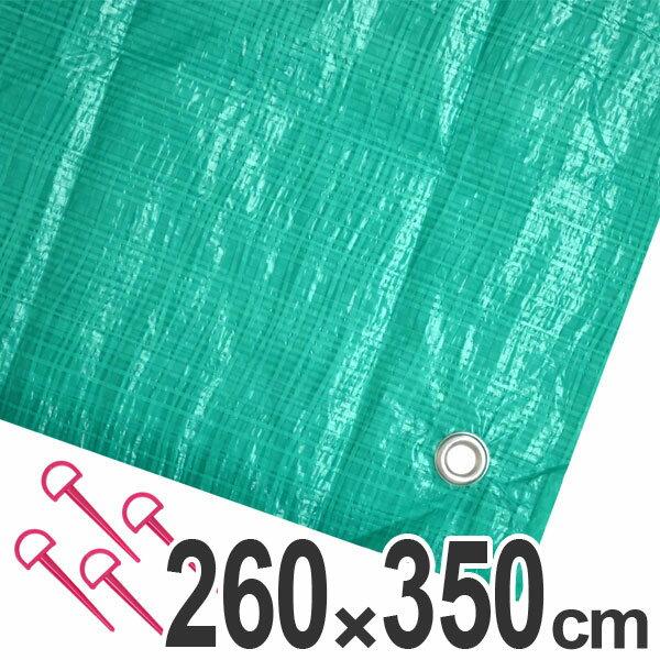 ジャンボシート 行楽シート 6畳 2.6×3.5m グリーン
