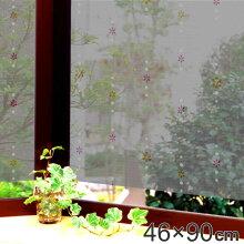遮熱・断熱窓飾り 両面柄付