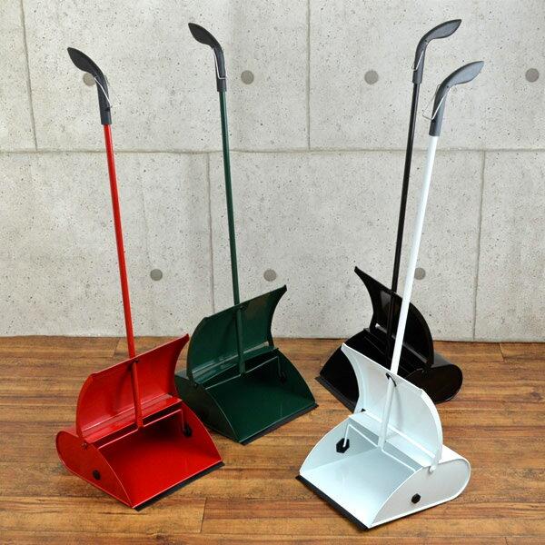 ちりとり スチール製 カラーチリトリ ( チリトリ ちり取り おしゃれ ブンチリ 文化チリトリ 掃除 清掃 玄関 )の写真