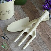 ガーデンツール ブリキ ボヌール ツール2本セット ( ガーデニング スコップ ハンドシャベル 花 ガーデン ガーデニング 用具 工具 )