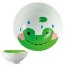 お茶碗 どうぶつシリーズ 子供 カエル ご飯茶碗 磁器 食器