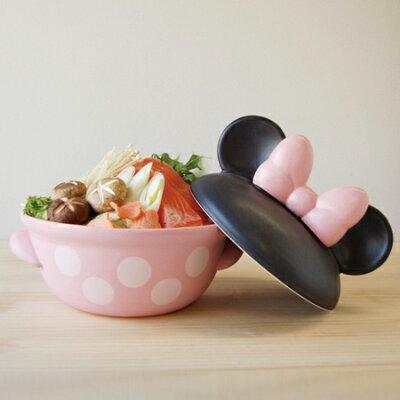 日本製土鍋でこんなにかわいい!ミッキー&ミニーの土鍋