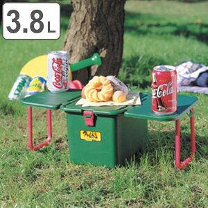 クーラーボックス ハードタイプ テーブル付 テーブルクーラー ポルカ ( ピクニックテーブル アウトドアテーブル クーラーBOX 保冷 ハードクーラー クーラーバッグ 冷蔵 キャンプ バーベキュー 日本製 )