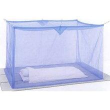 洗える ナイロン蚊帳(かや) 3畳 ブルー