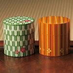 茶筒 HAKOYA 和風 小花柄シリーズ 350ml シリコン中蓋付き