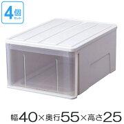 プラスチック クローゼット ボックス 積み重ね スタッキング
