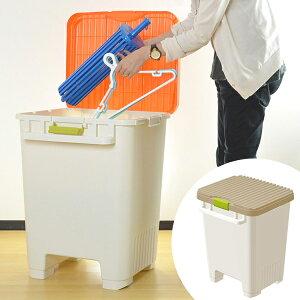 洗濯便利ストッカー ( 収納 屋外 ベランダ ハンガー ランドリー 洗濯 ストッカー キャスタ…