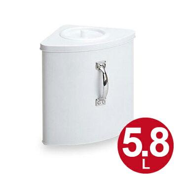 トイレコーナー ホームコーナー三角型 スチール製 ( 汚物入れ )