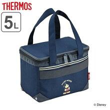 クーラーバッグ ミッキーマウス 5L サーモス(thermos) ソフトクーラー REH-005DS