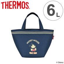 クーラーバッグ ミッキーマウス 6L サーモス(thermos) ソフトクーラー REH-006DS