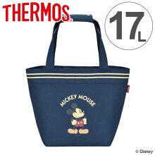クーラーバッグ ミッキーマウス 17L サーモス(thermos) ソフトクーラー REH-017DS