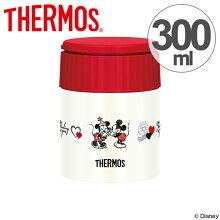 保温弁当箱 スープジャー サーモス thermos 真空断熱スープジャー ミッキーマウス 300ml JBI-300DS