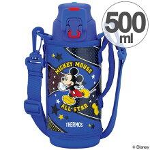 子供用水筒 サーモス 真空断熱スポーツボトル ミッキーマウス ステンレスボトル 500ml FFZ-501FDS