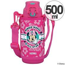 子供用水筒 サーモス 真空断熱スポーツボトル ミニーマウス ステンレスボトル 500ml FFZ-501FDS