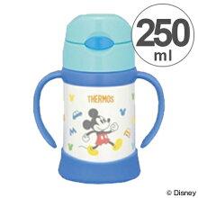 子供用水筒 サーモス(thermos) 真空断熱ベビーストローマグ ミッキーマウス 250ml FHI-250DS