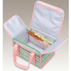お弁当箱ファミリーフレッシュランチボックスサーモス2段保冷バッグ付DJF-4002