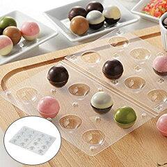 チョコレート型 ボール型 チョコモールド モールドキラリ ハロウィン ( チョコレート 手作り…