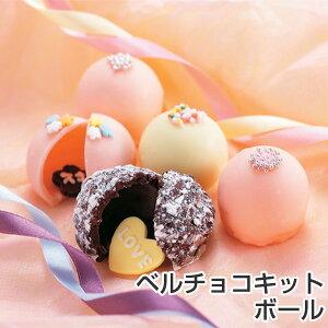 ベルチョコキット チョコモールド チョコレート型 ボール型 タイガークラウン ( チョコレート 手作り チョコ セット キット 型 製菓道具 お菓子作り バレンタイン プレゼント )