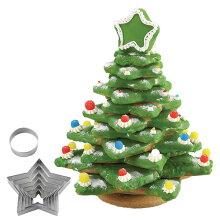 クッキー型 立体 クリスマスツリー もみの木型 抜き型 ステンレス製