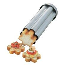 カナッペ型 パン型 抜き型 フラワーブレッド