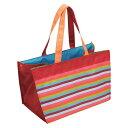 レジカゴバッグ ショッピングバッグ エコバッグ ストライプ ( トートバッグ 買い物バッグ レジバッグ 買い物袋 レジかご バッグ 手提げ袋 エコロジーバッグ )