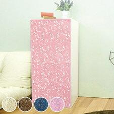 カラーボックス用カーテン 41×88cm 3段用 カラーボックス カーテン 3段 猫
