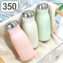 水筒 直飲み mil マグボトル 350ml ミルク瓶 保温 保冷 ステンレス製