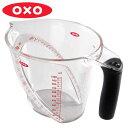 OXO オクソー アングルドメジャーカップ 大 1000ml ( メジャーカップ 計量カップ 1L 1リットル 計量器具 キッチンツール 食洗機対応 )