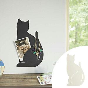 【ポイント最大27倍】可愛いネコの形のウォールディスプレイ アクセサリーハンガー アクセサリ...