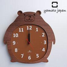 掛け時計  くま