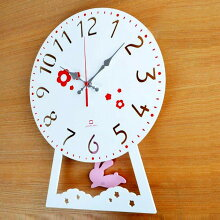 振り子時計 うさぎ