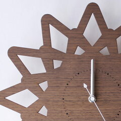 振り子時計ヤマト工芸yamato壁掛けpatternclockとげS