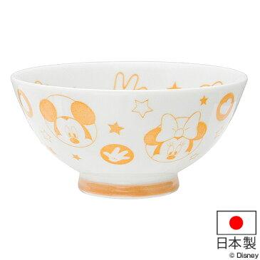 お茶碗 ミッキーマウス ミニーマウス 子供用 磁器 ご飯茶碗 日本製 ( 茶碗 食洗機対応 電子レンジ対応 子供用食器 飯碗 子供 キッズ 食器 ミッキー ミニー ドナルドダック デイジーダック ディズニー キャラクター )
