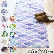 キッチンマット 240 拭ける PVCキッチンマット 45×240cm