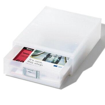 収納ボックス 引き出し プラスチック LM-50 A4 縦 サイズ 浅型 収納 日本製 ( 小物収納 収納ケース ケース ボックス 引出し 小物ケース 書類 コピー用紙 卓上収納 整理整頓 デスク周り レターケース 事務用品 文房具 おしゃれ )
