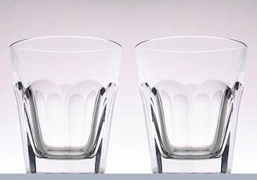 名入れグラス 代引き不可 送料無料Baccarat バカラ アルクール ペアタンブラーグラス 2810-591 ロックグラス (1702-238x2) レリーフ料込み グラス名入れ
