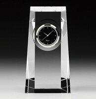 カガミクリスタル KAGAMI CRYSTAL Q427 オプティカルクロック 置時計