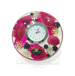 ドリームクロック 置き時計 ヴァレリー 直径約11cm×高さ4cm CDD72111CL