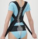 セルヴァン丸まった背中を起こす姿勢のサポーター肩甲骨&背すじ&骨盤を引き締め日本製