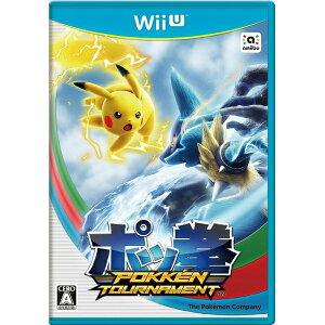 【初回特典amiiboカード入り】Wii U ポッ拳 POKKEN TOURNAMENT 【1…