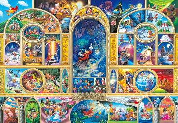 ディズニー ステンドアートジグソー ぎゅっと500ピース ディズニーオールキャラクタードリーム(DSG-500-410)【ディズニーパズル】(25x36cm)