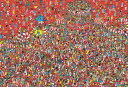 150ラージピース ジグソーパズル Where's Wally? アニバーサリーボール フォー ジャパン【L74-174】【38×26cm】【ビバリー】 1