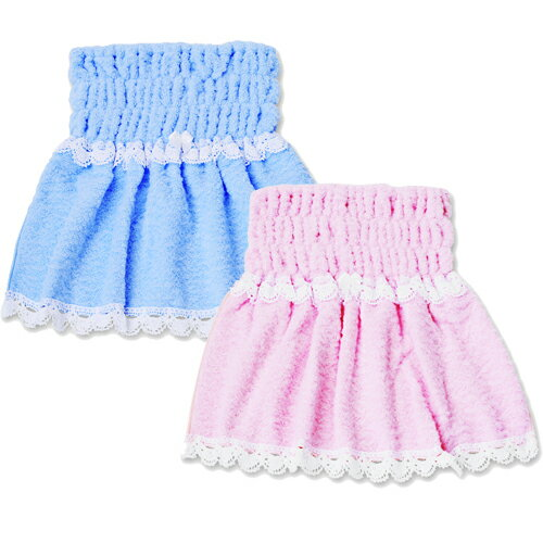 ●日本が世界に誇る「今治タオル」を使用した、唯一のドッググッズ。ふわふわバスローブ ピンク ブルー 【オーガニック ペットフード&ペットグッズ Loasis(ロアジス) 】