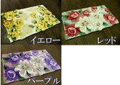 【3タイプ】優しい花柄/玄関マット/室内/45×75