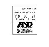 A&D TM-2655V用プリンタ用紙(5巻入) AX-PP147-S