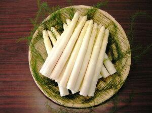 【送料無料】【食品】【SSKセールス】会津産 生鮮ホワイトアスパラガス Lサイズ 1kg