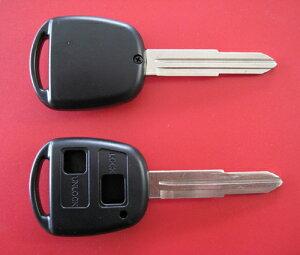 トヨタ/ダイハツBbムーブ2ボタンブランクキー