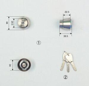 MIWAPRシリンダー(LA・MALASP・DA)シルバー色